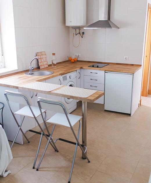salón -cocina
